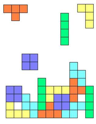 Tetris screen grab