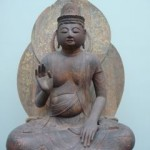 ancient Buddha statue at the Freer Gallery