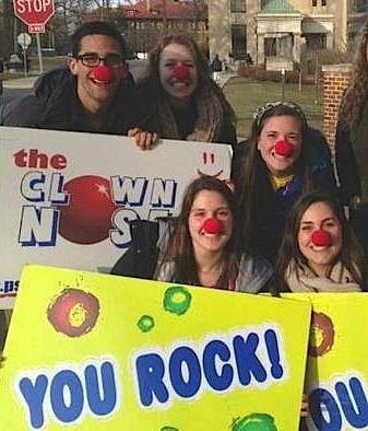 clown nose club Penn State-Danielle LongPhoto