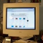 computer screen - by Mr Write via Morguefile
