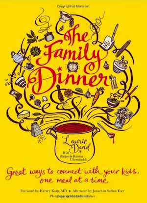 family dinner book cover