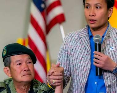 vietnamese orphan meets savior- CBS video