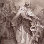 Abd el-Kader Muslim hero saves Christians-19thC