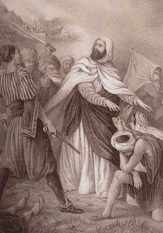 Abd el-Kader Muslim hero saves Christians-19thC