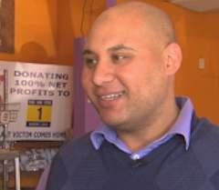 Ehab Sadeek Muslim bagel maker philanthropist