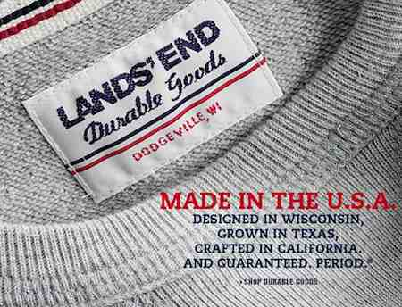 Made in USA-Lands End
