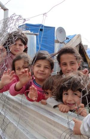 Refugee children From Syria-WFPphoto