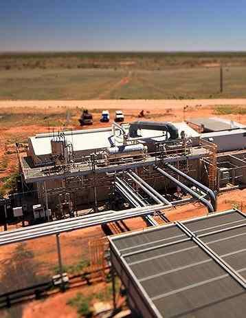 geothermal plant by Geodynamics Australia