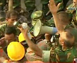 survivor pulled from rubble