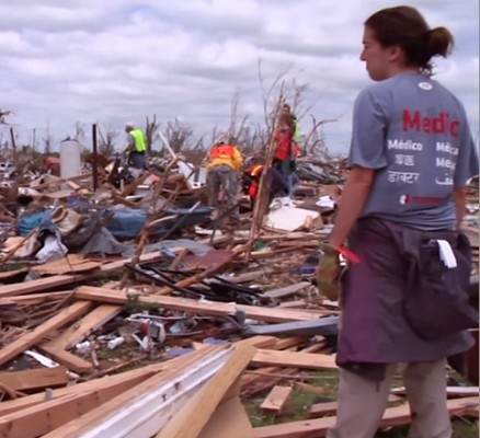 tornado devestation Okla TeamRubicon