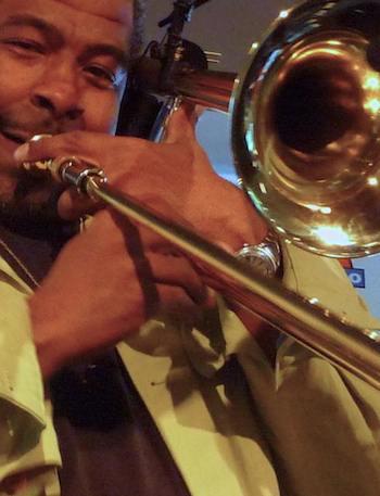 trombone player Austin