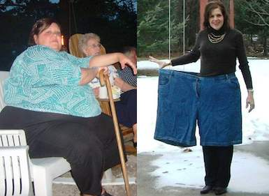 Theresa Borawski before and after photos