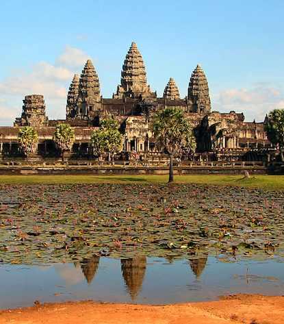 Angkor Wat Bjørn Christian Tørrissen-GNU