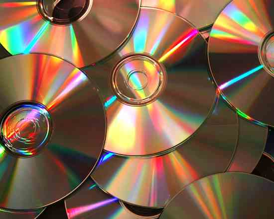 DVDs data storag, by LensFusion via Morguefile