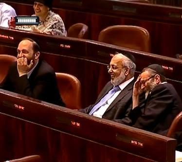 Israeli Knesset laughs