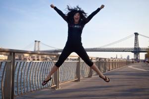 Jumping for joyCarinRockind