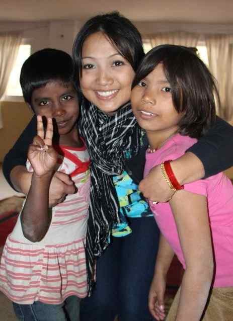 Nepal kids helped by Ganga Ghar