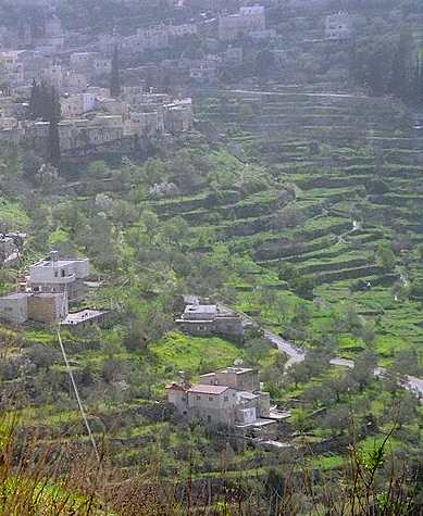 Palestinian farming town Batir, Photo by Idobi-GNU