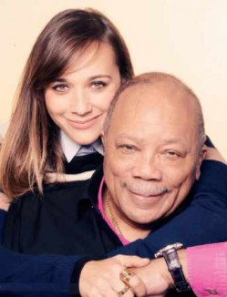 Rashida and Quincy Jones-Stand Up to Cancer poster