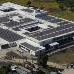 Solar panels Mirebalais hospital Haiti-PIHorg