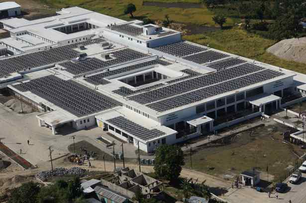New Hospital In Haiti Is Fully Powered By 1 800 Solar