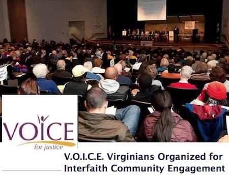 VOICE activists logo meeting