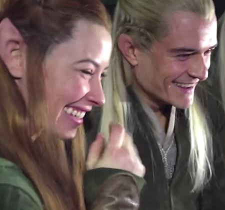 elves watch Hobbit trailor reaction