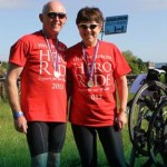 hero ride cyclists support wounded vets