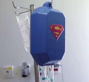 hospital-IV-bag-Superman cover