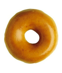 Krispy Kreme donut glazed