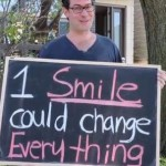 smiles on Ayden Byle chalkboard TorontoStarvideo