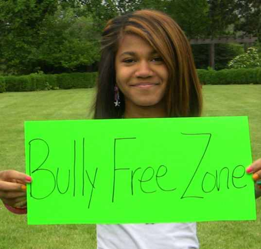 Bully Free Zone sign- LoveShareCare.com