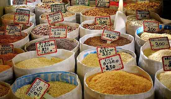 Grains in Roman market-Giampaolo-Macorig-CC