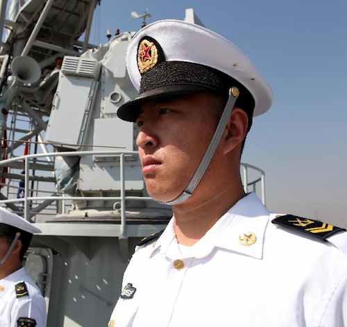 Navy Chinese-Peoples Daily