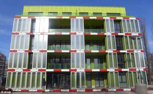algae building by © Arup