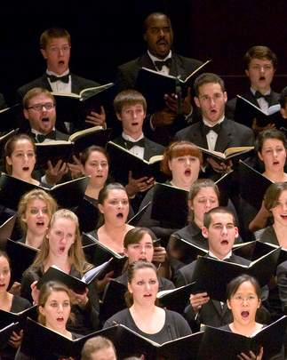 choir Montclair State University Photography