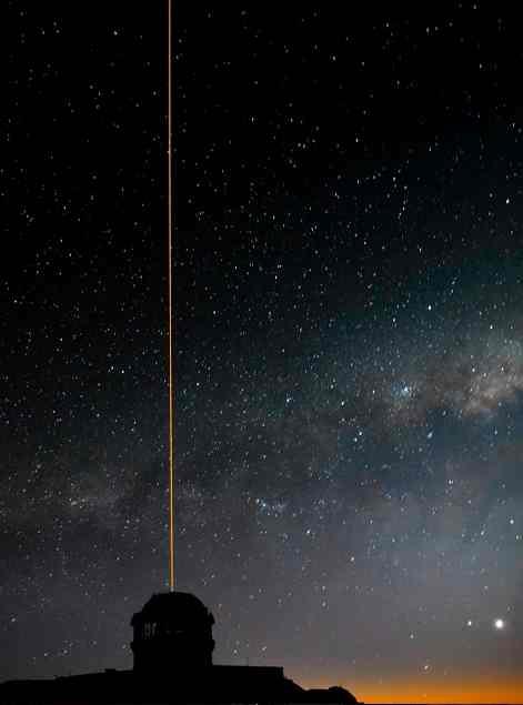 telescope Gemini ObservatoryAURA-Manuel Paredes