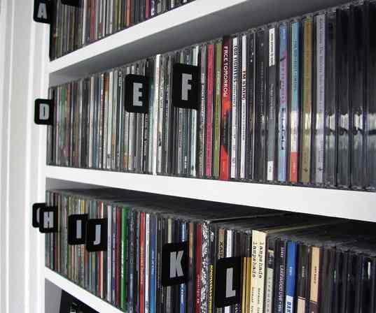 CDs in ABC order - Eelke de Blouw-Foter-CC