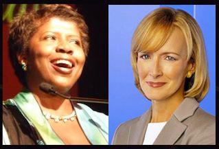 Gwen Ifill Judy Woodward