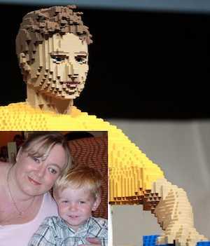 Lego lifesize boy mash-up by Gage Skidmore via Flickr-CC