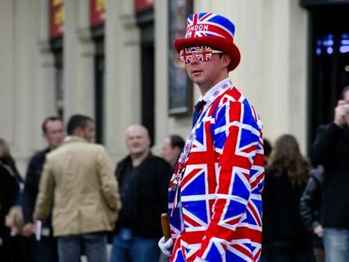 London Union Jack clothing