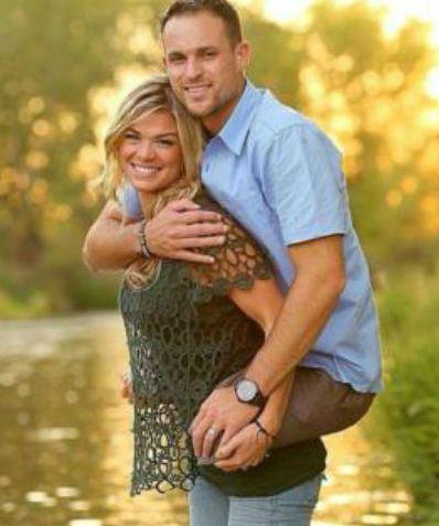 Marine Wife Carries Jesse Cottle - Sarah Ledford, ShutterHappy Photography
