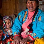 Peruvian Natives with crafts-Pro Mujer