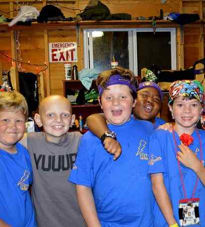 Ronald Macdonald house camp for kids