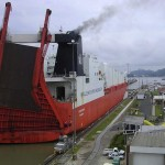Ship_passing_through_Panama_Canal-CC-Dozenist