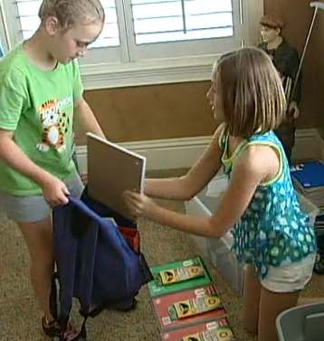 back pack charity party-BayNews9