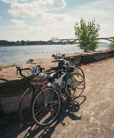 bikes in Great Waterfront Trail Adventure-GOH IROMOTO