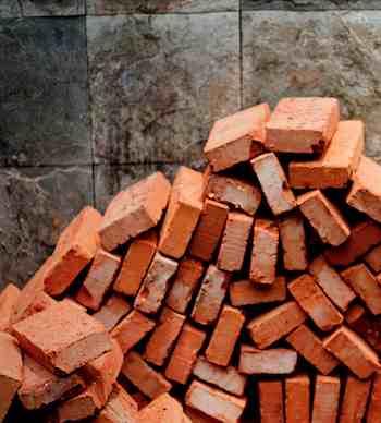 bricks by Andrew Hefter-cc