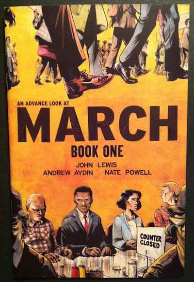 comic book MARCH John Lewis