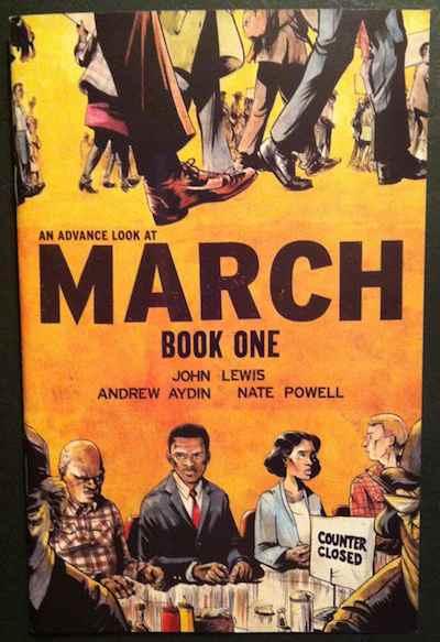 comic book MARCH John Lewis